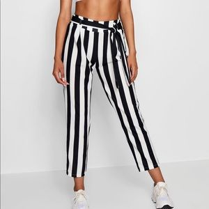 Candy striped trousers